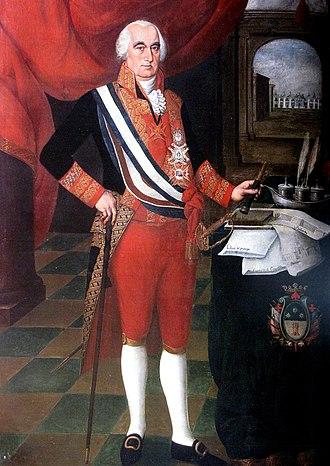 Royalist (Spanish American independence) - Image: Pedro Díaz José Fernando de Abascal