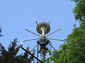 Direction finding - Direction finding antenna near the city of Lucerne, Switzerland