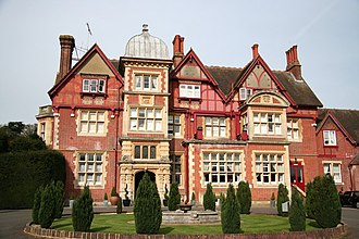 Pendley Manor - The main frontage of Pendley Manor