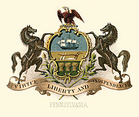 Pennsylvania state coat of arms (illustrated, 1876).jpg