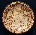 Periodo selgiuchide, piatto con giocatore di polo, kashan, 1170-1200 ca.jpg