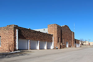 National Register of Historic Places listings in Noble County, Oklahoma - Image: Perry Armory 1