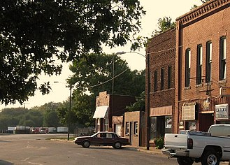 Perry, Kansas - Downtown Perry (2009)