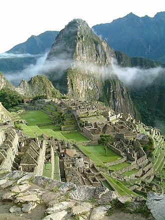 The Motorcycle Diaries (film) - Image: Peru Machu Picchu Sunrise