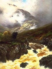 A Highland glen