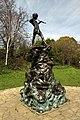 Peter Pan statue in Kensington Gardens in the City of Westminster in London, spring 2013 (12).JPG