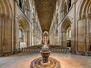 Peterborough Cathedral - The nave