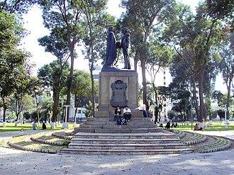 Abel-Nicolas Bergasse Dupetit Thouars - Dupetit Thouars monument in Lima, Peru