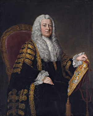 Philip Yorke, 1st Earl of Hardwicke - Image: Philip Yorke, 1st Earl of Hardwicke (1690 1764) by William Hoare of Bath