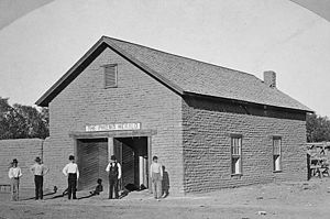 History of Phoenix, Arizona - Phoenix Herald Building - 1879