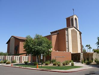 Cathedral of Saints Simon and Jude (Phoenix, Arizona) - Image: Phoenix Cathédrale Saints Simon et Jude 1