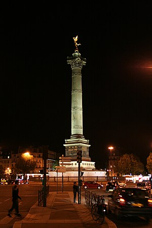 Joseph-Louis Duc - July Column, Paris, dedicated 1840