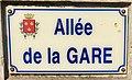 Photo de plaque de rue prise dans la commune d'Étaples - allée de la Gare.jpg