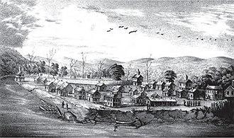 Marietta, Ohio - Picketed Point stockade at Marietta