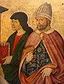 Pier francesco fiorentino, madona col bambino tra i ss. lorenzo, pietro martire, un evangelista e biagio, 1475-1500 ca., 03.jpg
