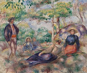 Resting in the Grass (Le Repos sur l'herbe)