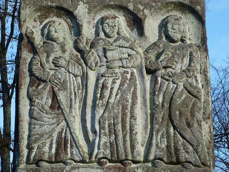 Pierre des 12 apôtres (Breitenstein) à Meisenthal