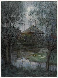 Piet Mondriaan - Hooischelf - Haystack - 1897 - 1898 - Gemeentemuseum Den Haag.jpg