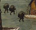 Pieter Bruegel der Ältere - Volkszählung zu Bethlehem (Drei Träger).jpg