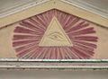 Pieve Terzagni (Pescarolo ed Uniti) - Chiesa di San Giovanni Decollato . Occhio che tuttp vede.JPG