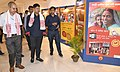 "Pijush Hazarika visiting a photo exhibition on the themes of ""Swachh Bharat Abhiyaan"" and ""Saaf Niyat, Sahi Vikas"", organised by the Regional Outreach Bureau, Guwahati under the Ministry of Information & Broadcasting.JPG"