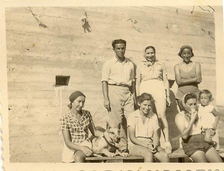 מגדל השמירה ברמת השניים - 1940