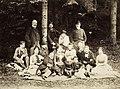 Piknikező társaság a város környéki erdőszélén. A felvétel az 1880-as években készült. Fortepan 96138.jpg