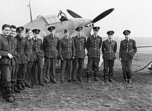 History of the royal canadian air force wikipedia 1 squadron later renamed to 401 squadron was the first rcaf squadron to see sciox Choice Image