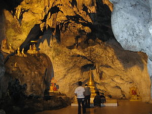 Pindaya Caves - One of the caverns in the interior