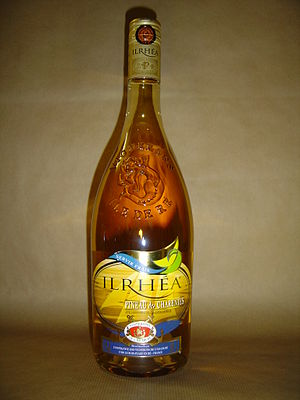 Pineau des Charentes - A bottle of Pineau des Charentes