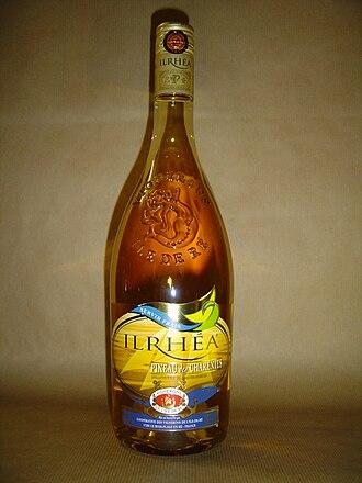 Pineau des Charentes - A bottle of Pineau des Charentes