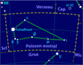 Piscis austrinus constellation map-fr.png