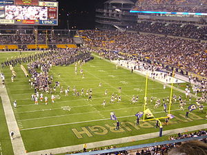 2010 Pittsburgh Panthers football team - Pregame of the September 23rd game versus Miami