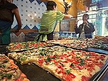 Pizza al taglio a Trastevere