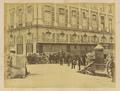 Place Vendôme; Barricade in the Rue Castiglione WDL1273.png