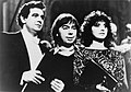 Placido Domingo, Andrew Lloyd Webber, Sarah Brightman 1985.jpg