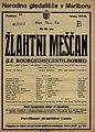 Plakat za predstavo Žlahtni meščan v Narodnem gledališču v Mariboru 29. januarja 1926.jpg