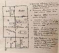Plan of Pushkin's last apartment by V. Zhukovsky.jpg