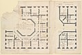 Plans of the Ground and First Floors of the Chateau of Marly MET DP232273.jpg