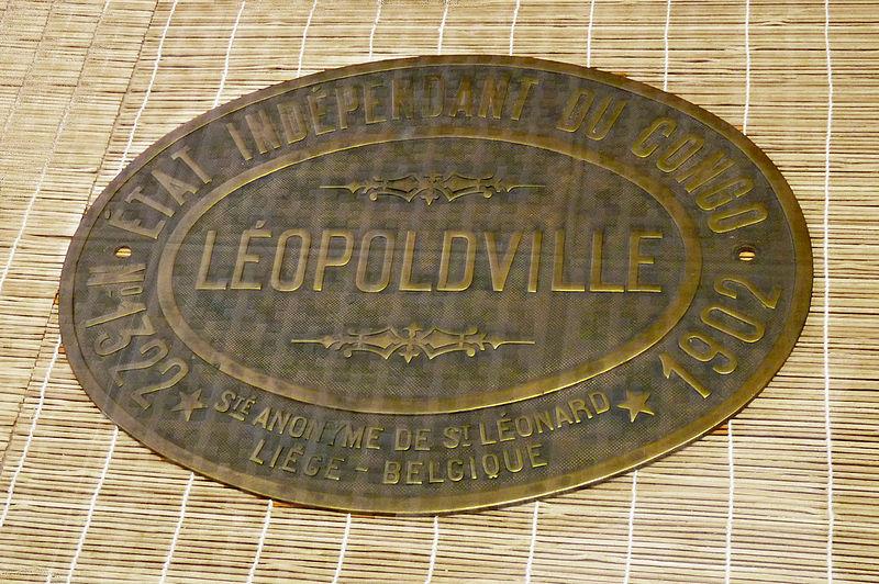File:Plaque de locomotive-Etat indépendant du Congo-1902.jpg