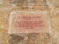 Plaque on building in front of Captain's Tower.png