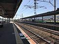 Platform of Shin-Tosu Station (Nagasaki Main Line) 2.jpg