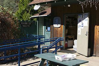Platina, California - Platina post office