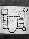 plattegrond van kasteel - amstenrade - 20010721 - rce