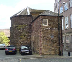Newcastle town wall - Plummer Tower
