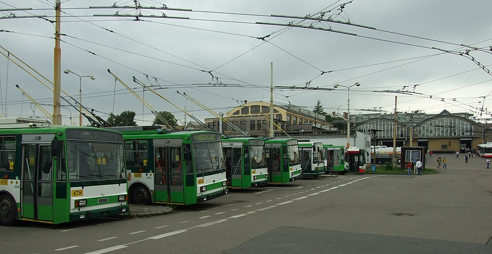 Plzeň, Vozovna Cukrovarská, trolejbusy III