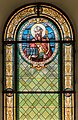 Poertschach Pfarrkirche hl Johannes d T Supersberg-Glasfenster 19082015 6780.jpg