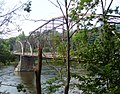 Pond Eddy Bridge from Pennsylvania upriver.jpg