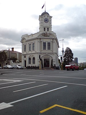 Ponsonby, New Zealand - Former Ponsonby Post Office