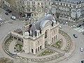 Porte de Paris vue du haut du Beffroi de l'hotel de ville 29 mars 2013.JPG